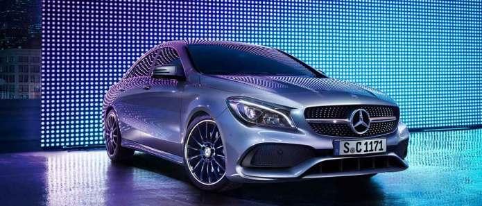 Mercedes nuova CLA Coupé