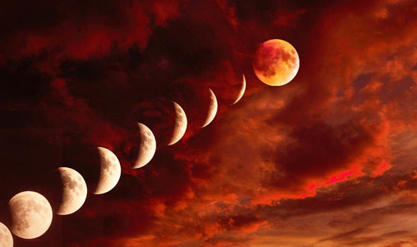 Luna Eclissi  Sole