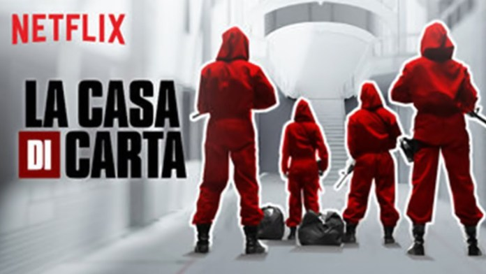 La casa di carta: terza parte, Netflix - annuncio data di uscita