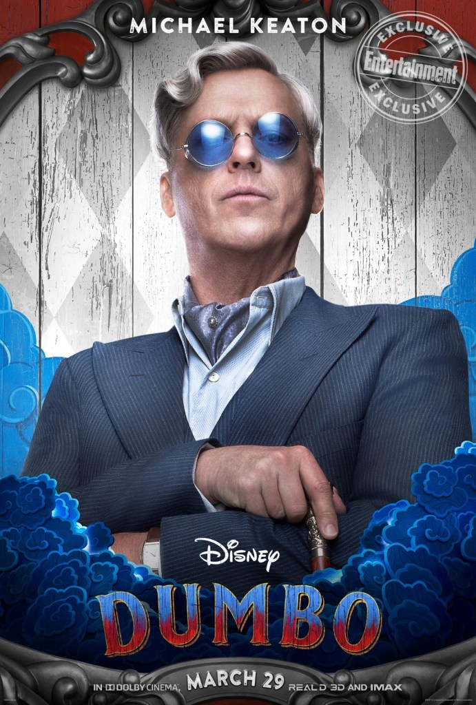 Michael Keaton è V. A. Vandevere