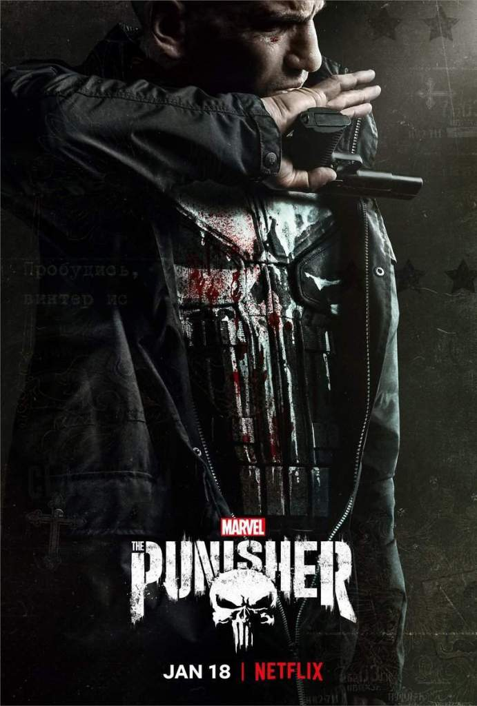 The Punisher - Poster - 18 Gennaio - Netflix