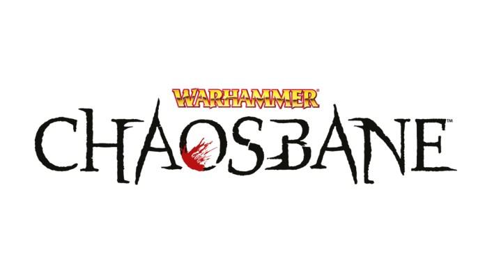 Warhammer: Chaosbane logo gioco action-rpg personaggio video trailer gameplay