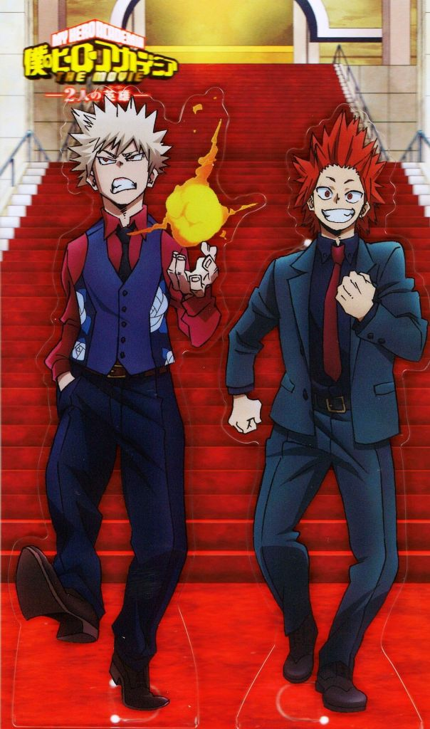 kiribaku my hero academia movie two heroes