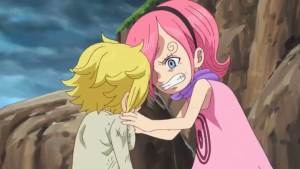 One Piece - Episodio 873, momento strappalacrime tra Sanji e Reiju