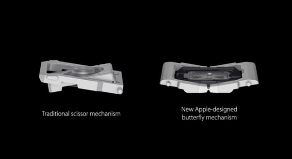 Apple MacBook Tastiera Butterfly