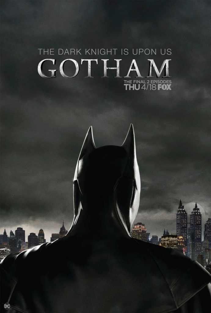 Gotham: Batman si mostra nel poster del finale di serie