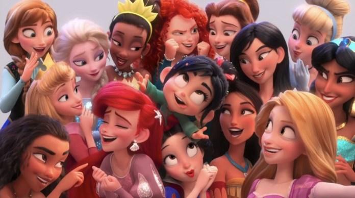 Ralph Spacca Internet, Principesse Disney