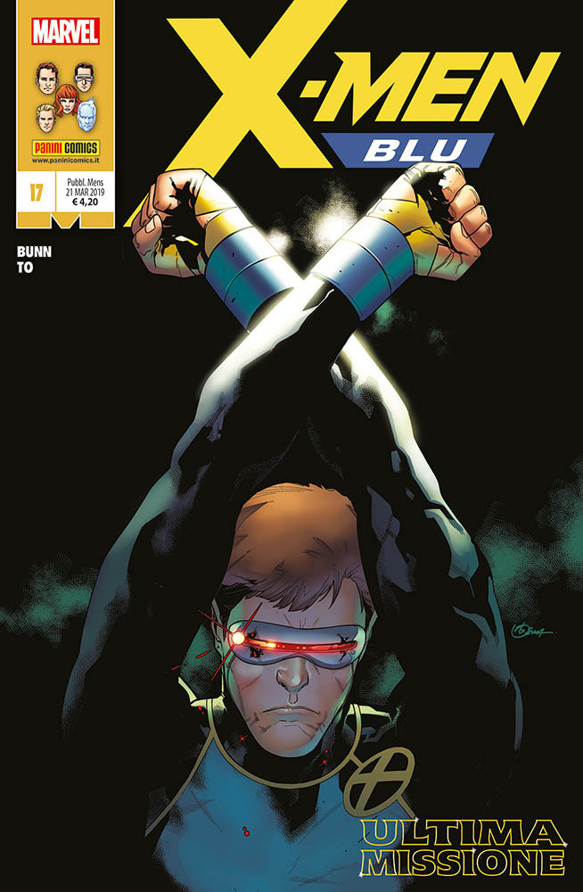 X-Men Blu 17 - Regular
