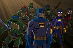 "Rilasciato il trailer del film ""Batman vs. Teenage Mutant Ninja Turtles"""