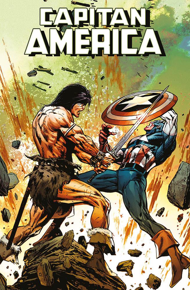 Captain America 4  Conan Variant
