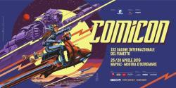 Comicon 2019: Il manifesto è di Francesco Francavilla