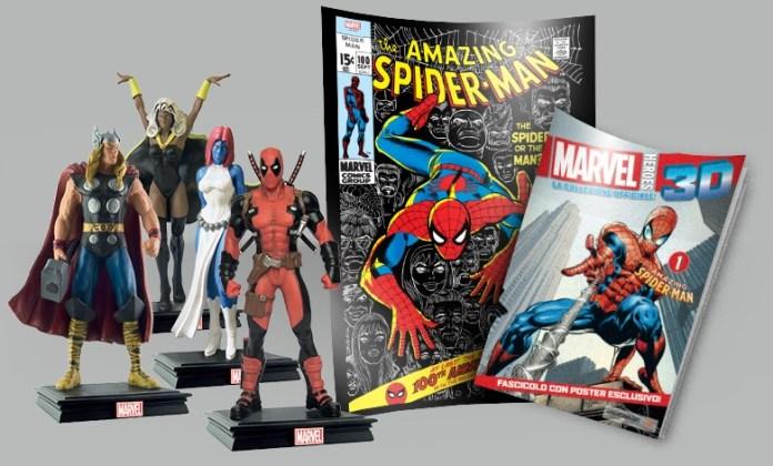 Marvel Heroes 3D