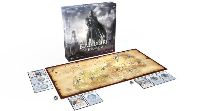 Black desert the board game