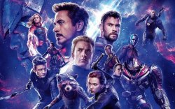 Avengers: Endgame, Marvelous  Anime Fan art!