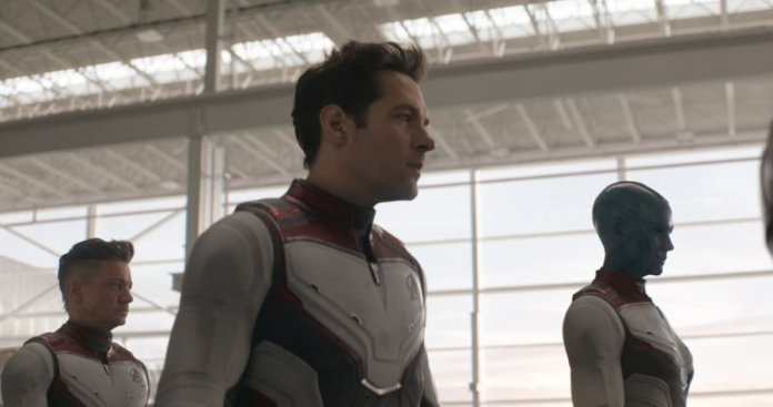 Avengers: Endgame - Ant-Man, Ronin e Nebula