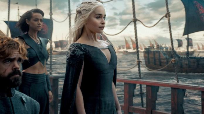 Daenerys, Tyrion e Missandei
