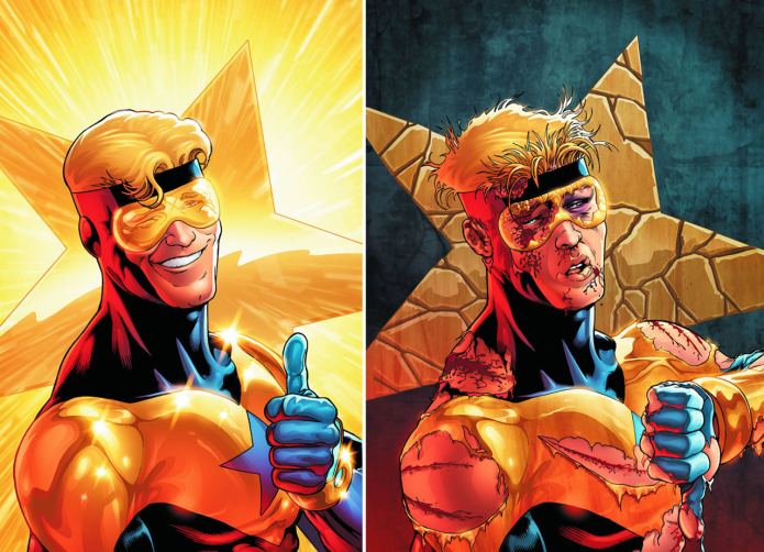 booster gold dc comics booster gold dceu