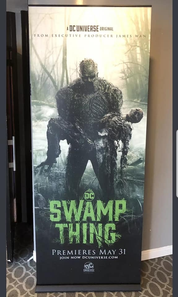 Swamp Thing DC universe Doom Patrol DC comics