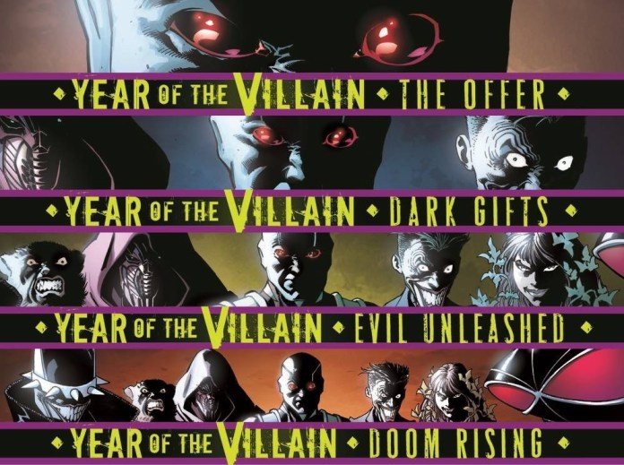 year of the villain dc comics