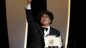 Cannes 2019, Bong Joon-ho regista di Parasite vuol conoscere Gianni Morandi