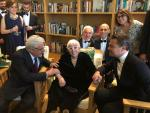 Cannes 2019, Leonardo DiCaprio incontra Lina Wertmuller