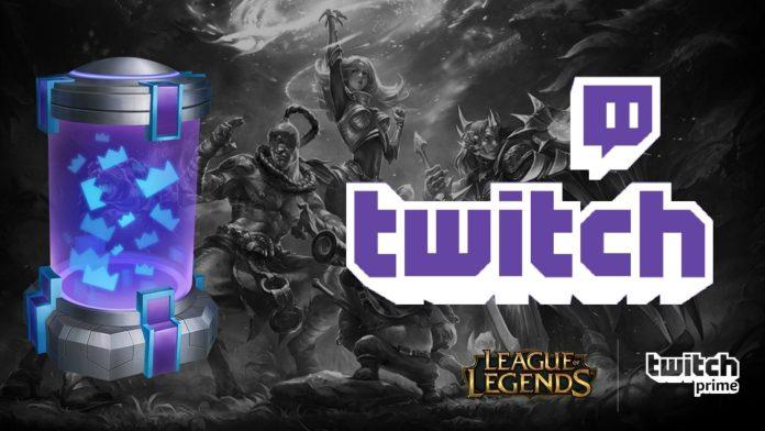 League of Legends Twitch Prime