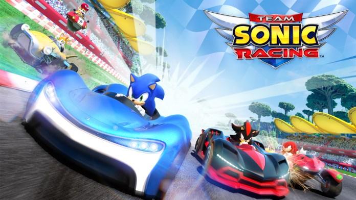 Team Sonic Racing Gioco uscita Maggio