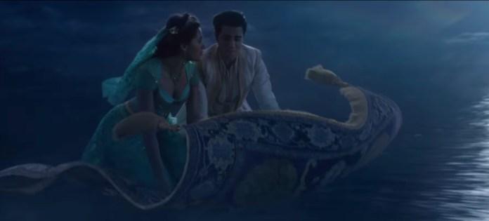 Aladdin Trailer Tappeto Volante Jasmine recensione