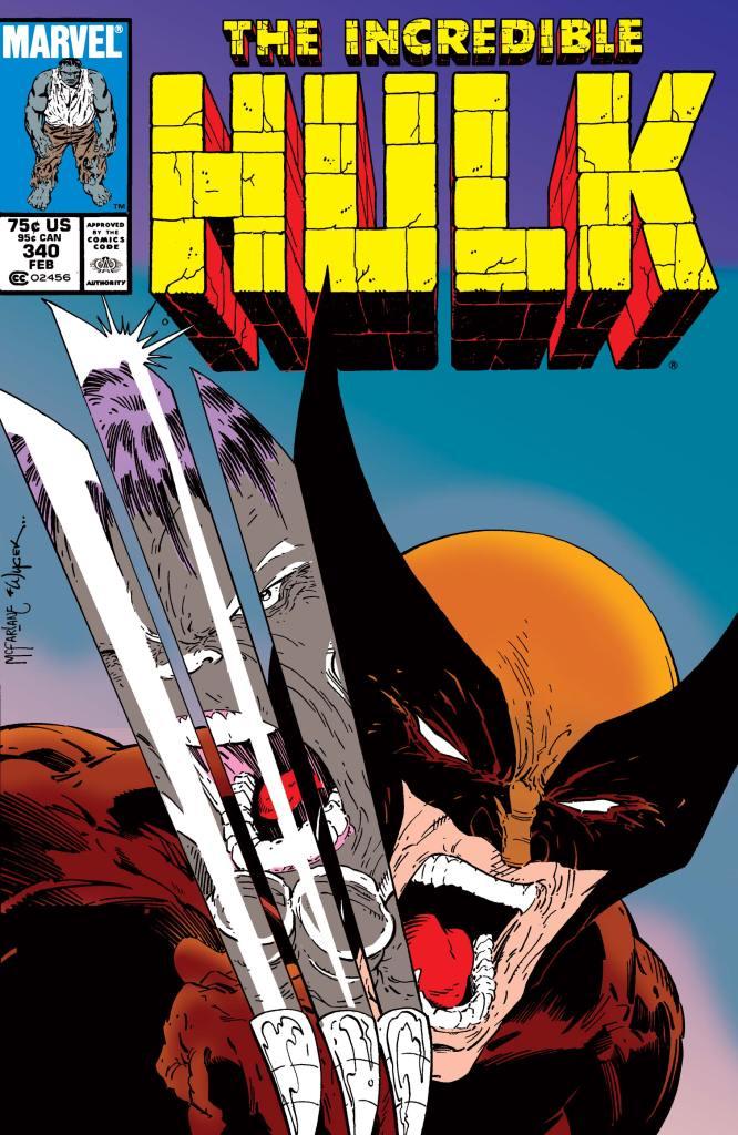 Uno scontro senza eguali fra Hulk e Wolverine