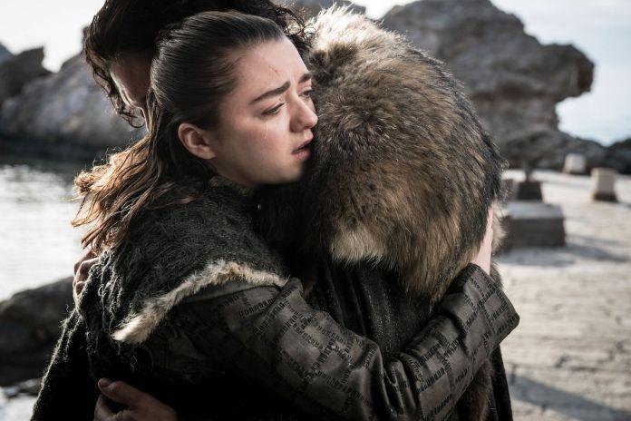 Arya Stark e Jon Snow