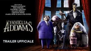 La Famiglia Addams, ecco il trailer del lungometraggio animato