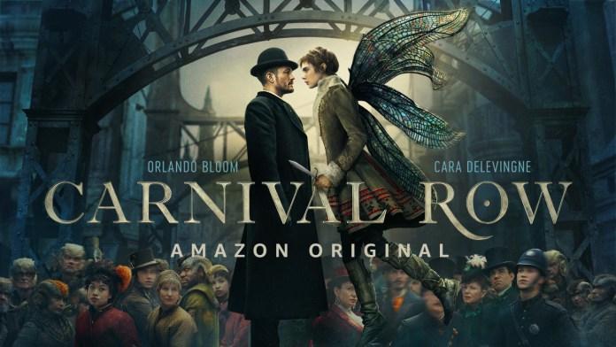 Carnival row serie tv amazon original  orlando bloom cara delevingne teaser trailer