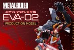 Neon Genesis Evangelion: Bandai presenta il nuovo Evangelion 02 Production Model Metal Build