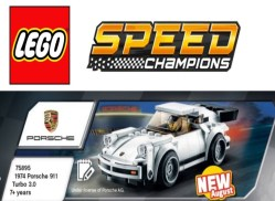 LEGO Speed Champions 75895 1974 Porsche 911 Turbo 3.0: dettagli e immagini del nuovo set