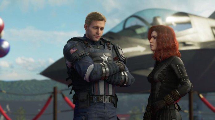Capitan America Vedova Nera Avengers