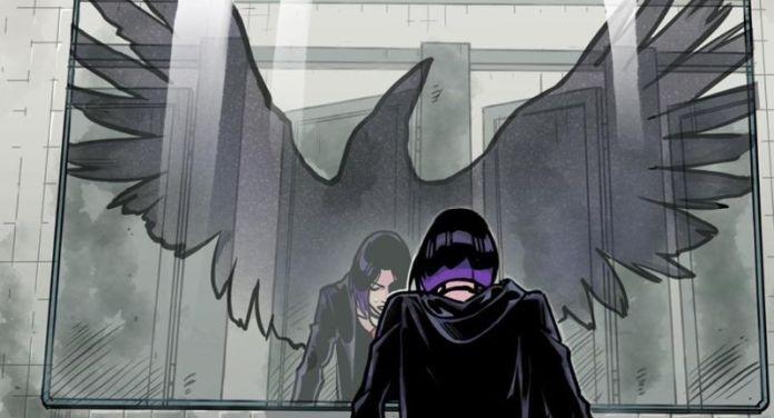 dc comics dc ink teen titans raven