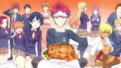 Food Wars: Annunciata la quarta stagione dell'anime