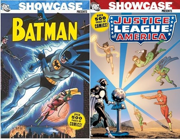 showcase dc comics rw edizioni editoriale cosmo
