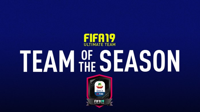 TOTS FIFA 19 Ultimate Team Serie A TIM