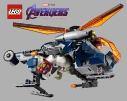 LEGO Avengers: Endgame, svelato l'Avengers Hulk Helicopter Drop