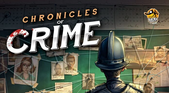 Chronicles of Crime copertina gioco