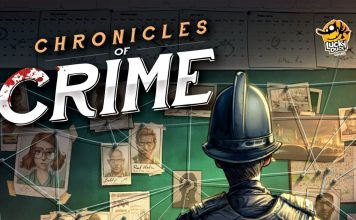 Chronicles of Crime copertina gioco
