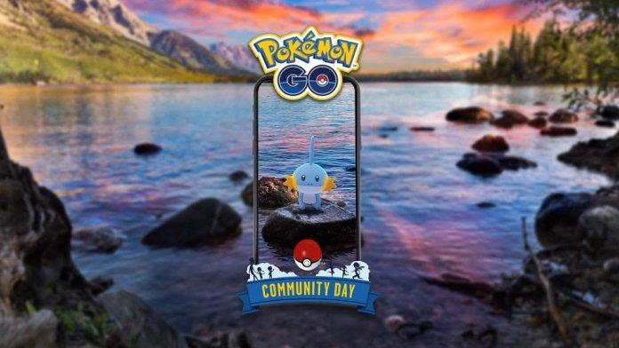 Pokémon GO Niantic Community Day Shiny Mudkip