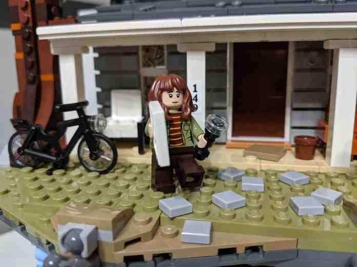 Lego 75810: Stranger Things, Il Sottosopra