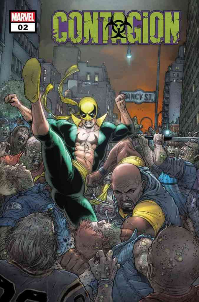 MARVEL COMICS CONTAGION IRON FIST LUKE CAGE JESSICA JONES