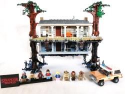 Stranger Things: la LEGO ci porta nel Sottosopra e nella casa di Will Byers