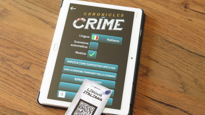 Chronicles of Crime app