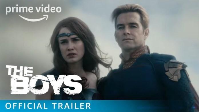 the boys trailer amazon serie