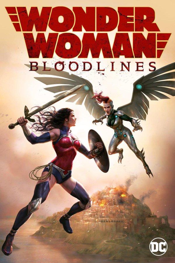 Wonder Woman: Bloodlines DC universe Movie trailer