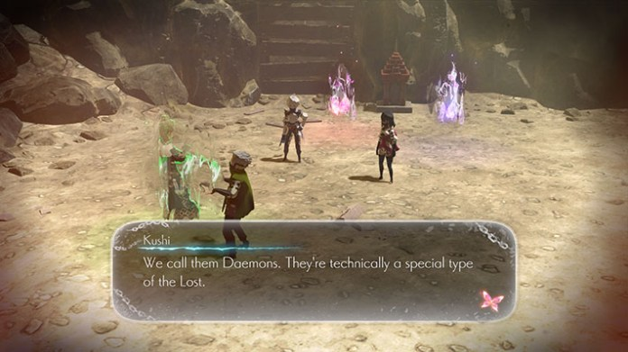 Oninaki Daemons Screen